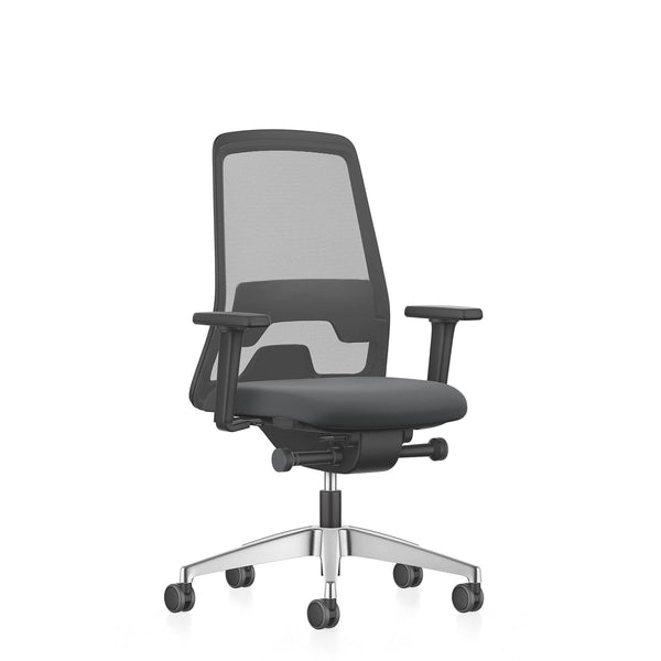 New Every Chair Medium Swivel Armchair - Office Chairs- Interstuhl-ONE 52 Furniture