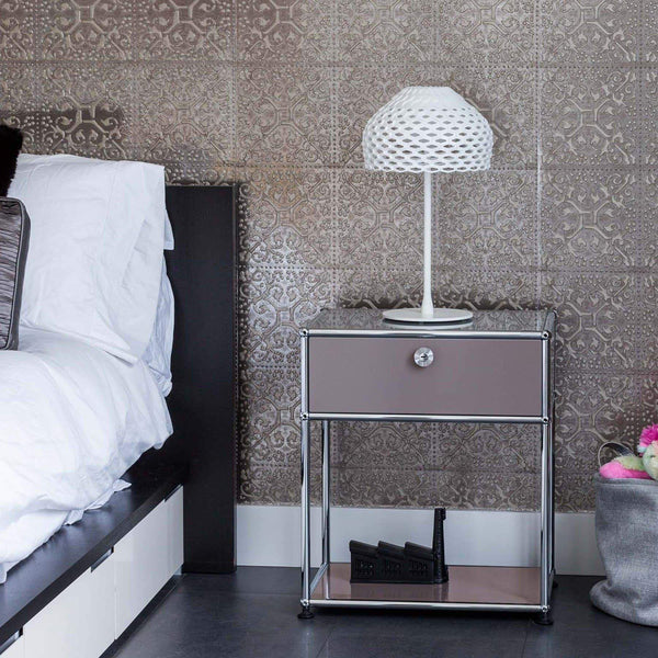 Haller System, Bedside Table 45 - Tables- USM-ONE 52 Furniture