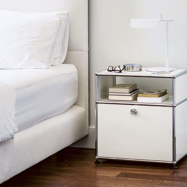 Haller System, Bedside Table 55 - Tables- USM-ONE 52 Furniture