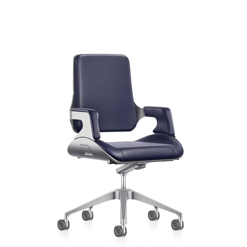 Silver Chair Medium Swivel Chair - Office Chairs- Interstuhl-ONE 52 Furniture