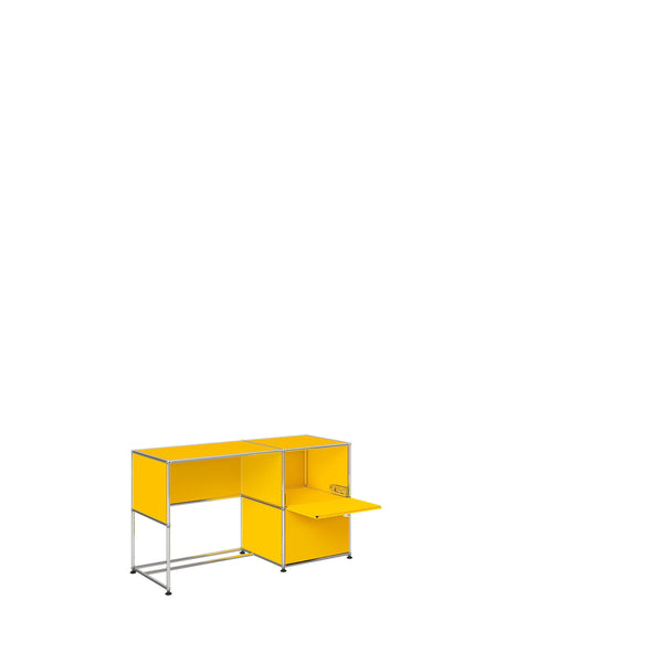 Haller System, Mini Desk with Storage 104 - Storage- USM-ONE 52 Furniture
