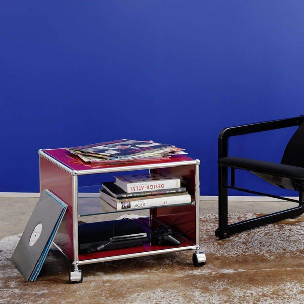 Side Table + Castors - Storage- USM-ONE 52 Furniture