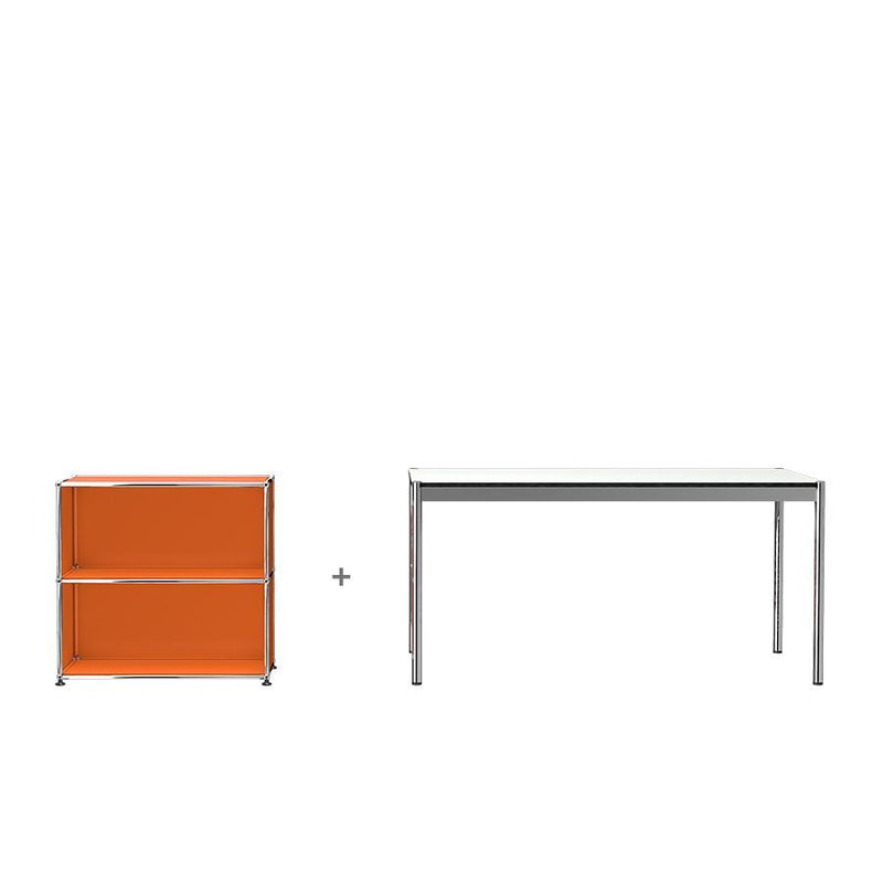 Haller Table + Storage - - USM-ONE 52 Furniture
