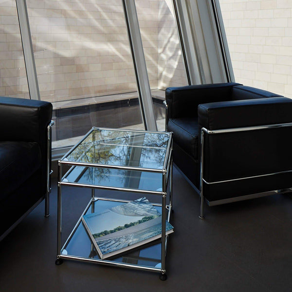 Haller System, Glass Center Table - Tables- USM-ONE 52 Furniture