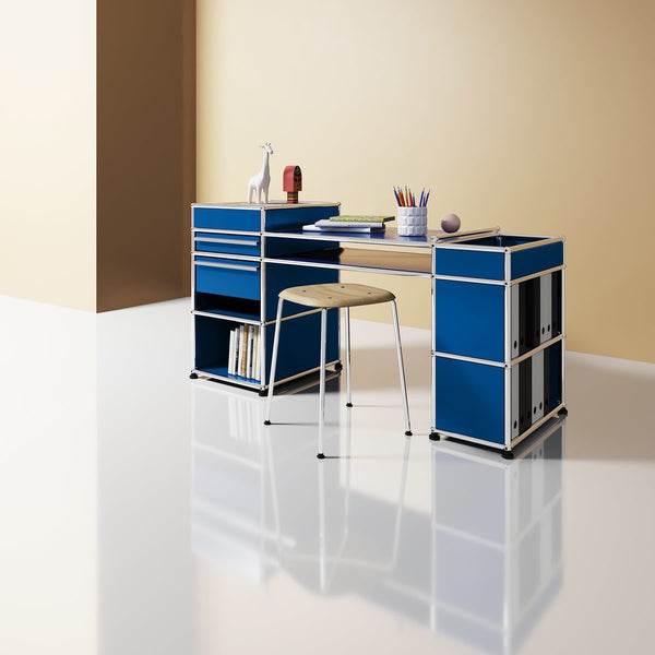 Haller System, Study Table - Storage- USM-ONE 52 Furniture