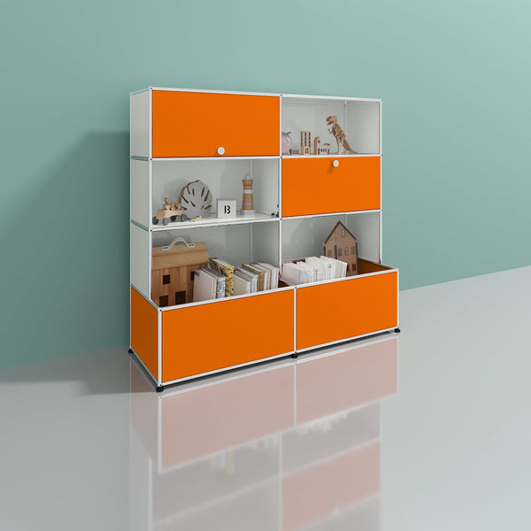 Haller System, Shelf + Toy Box - Storage- USM-ONE 52 Furniture