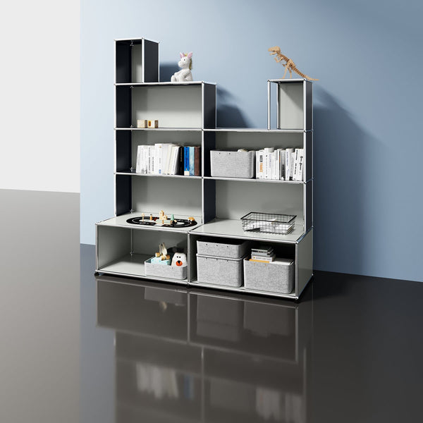 Haller System, Display Shelf + Bench - Storage- USM-ONE 52 Furniture