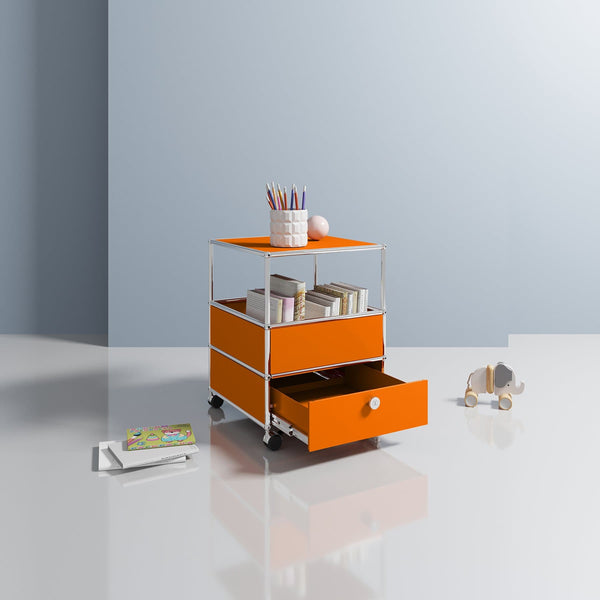 Haller System, Side Table - Storage- USM-ONE 52 Furniture
