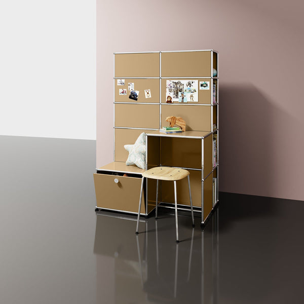 Haller System, Mini Office Set - Storage- USM-ONE 52 Furniture
