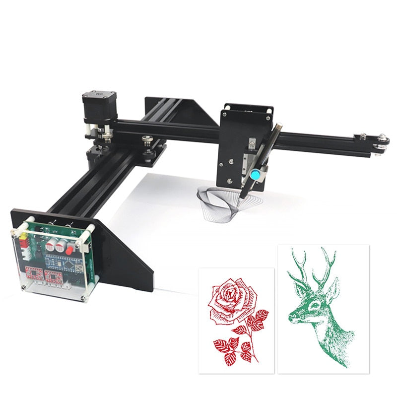 Metal Drawing Robot Kit Writer
