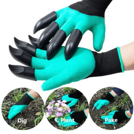 Gloves for garden Digging Planting with 4 ABS Plastic Claws