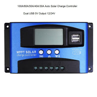 Auto Solar Charge Controller MPPT With Dual USB