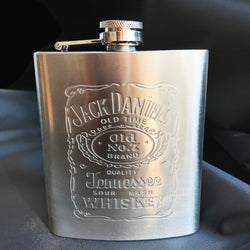 portable stainless steel flask