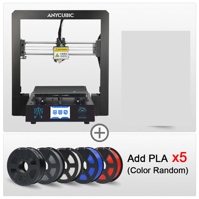 ANYCUBIC I3 Mega DIY 3D Printer Full Metal frame Impresora TFT Touch Screen High Precision 3d printer extruder impressora