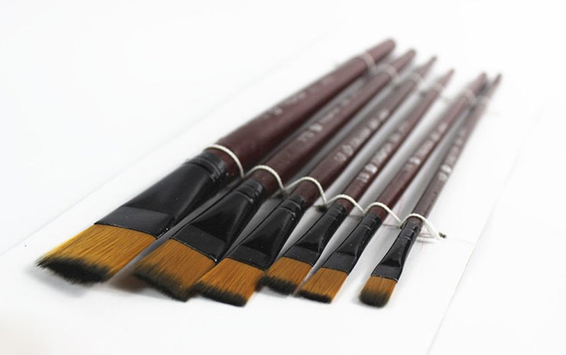 Art Brown Nylon Paint Brushes