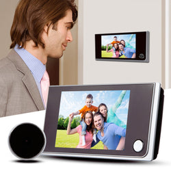 3.5 inch LCD Color Screen Digital Doorbell