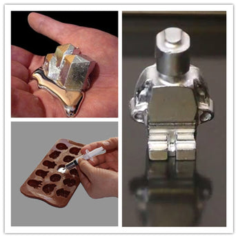 Gallium Element Low Melting Point Metal Educational Magician Diy Toy