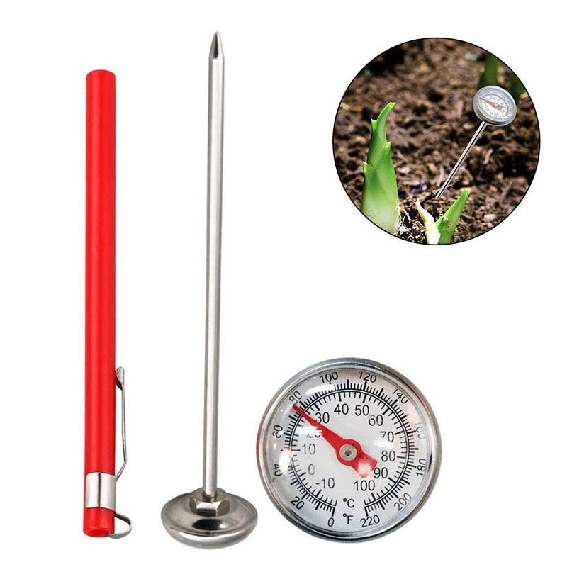 Stainless Steel Soil Thermometer 127mm