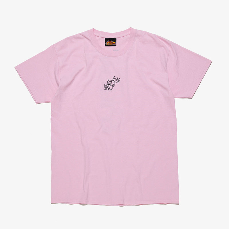 DEVILMAN EMBROIDERY SHORT SLEEVE TEE