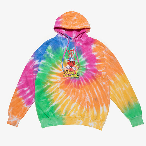 I WANT YOU TIE-DYE PARKA