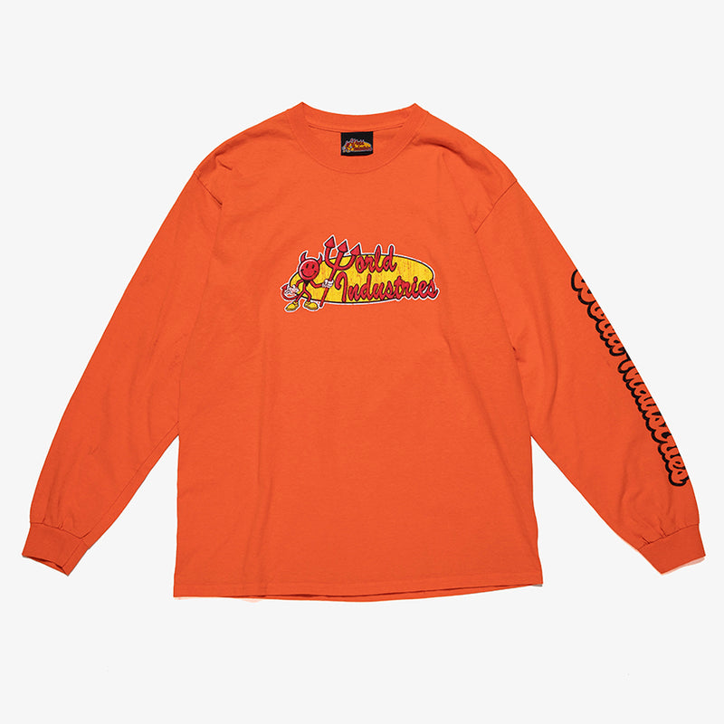 RETRO CORP LOGO LONG SLEEVE TEE