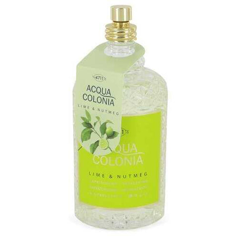 4711 Acqua Colonia Lime & Nutmeg by 4711 Eau De Cologne Spray (Tester) 5.7 oz (Women)