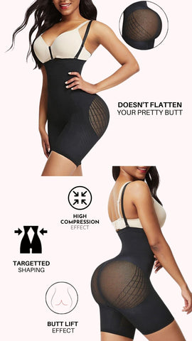 Power Sculpt Fit Seamless Body Shaper