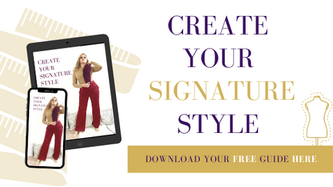 personal signature style guide