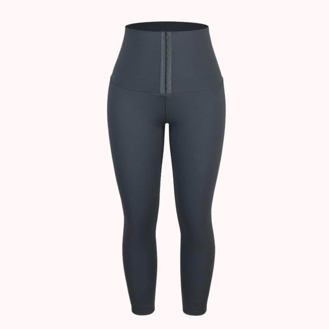Cassie | High-Waisted Waist Shaping Leggings-Leggings-TrophyShapeWear.com