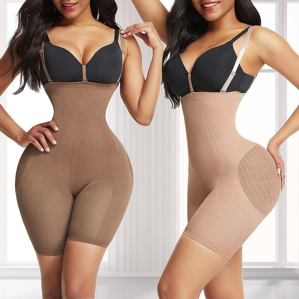 Coralyn | Power Sculpt Fit Seamless Body Shaper-Shapewear-TrophyShapeWear.com