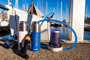 Spigot- Portable Water Filtration System- By Guzzle H2O