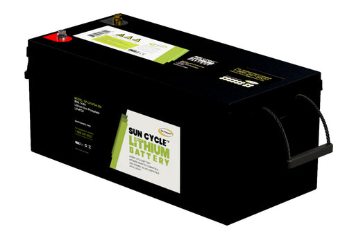 LIFEPO4-250 LITHIUM BATTERY- by Go Power