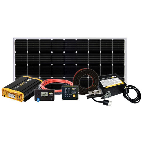 Weekender ISW Solar Charging System (190w +1500 PSW Inverter)