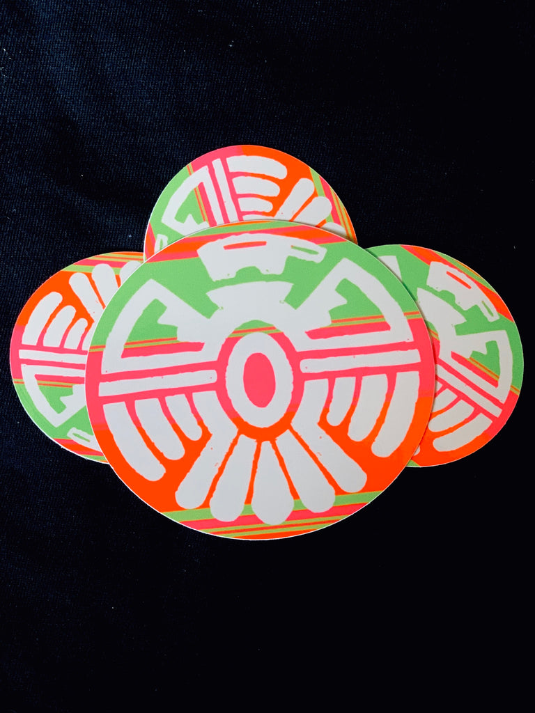 THUNDERBIRD NEON LOGO STICKER
