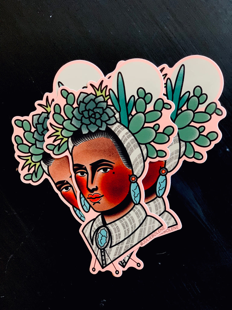 SOUTHWEST BABE STICKER