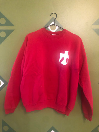 Thunderbird vintage ladies large sweatshirt red