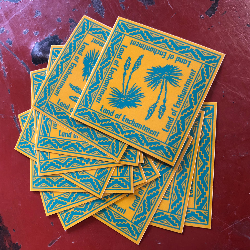 YUCCA enchanted sticker