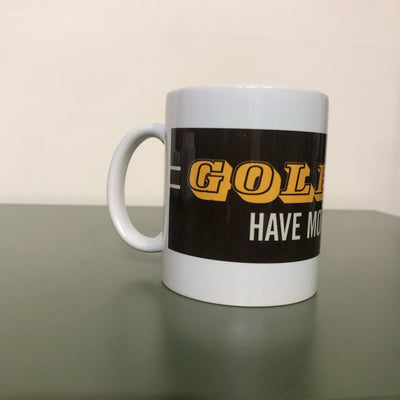 GOLFERS HAVE MORE DRIVE coffee cup