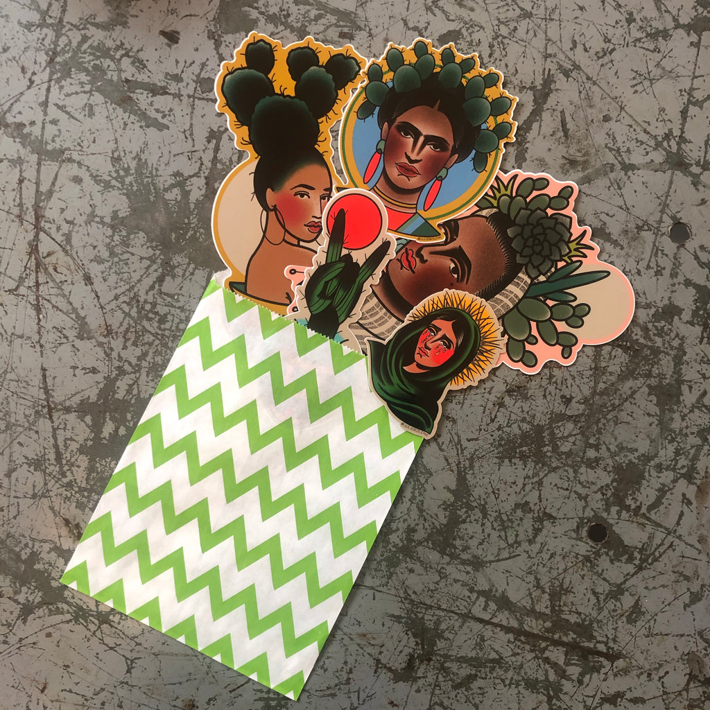 CACTUS STICKER PACK