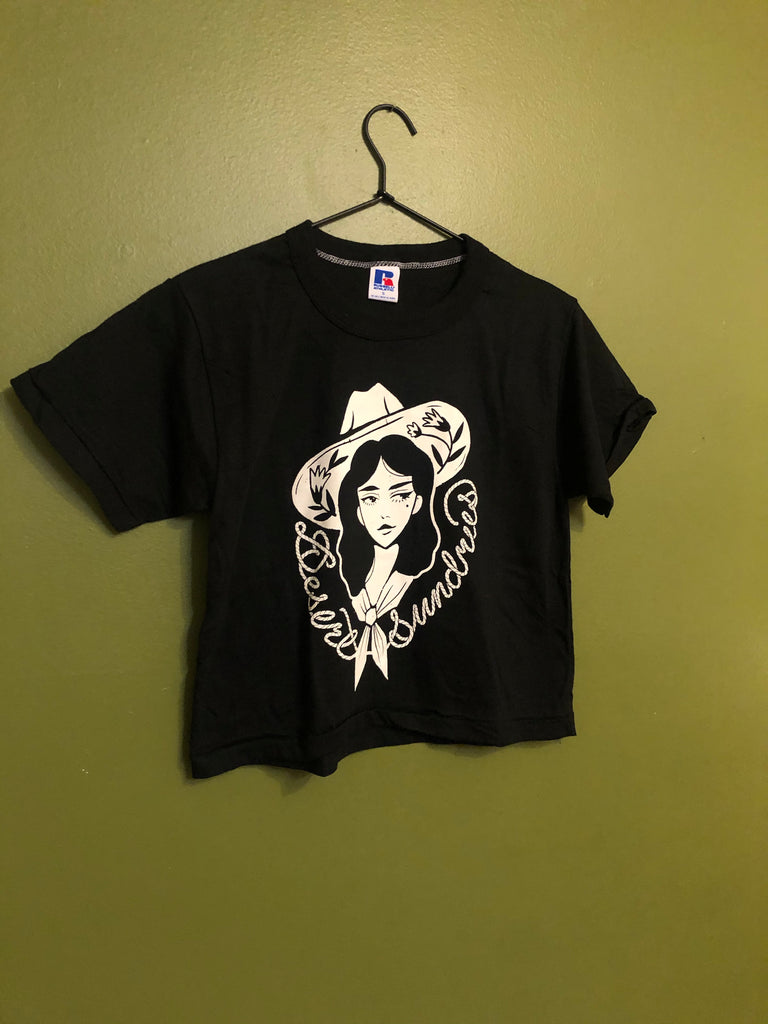 COWGIRL DS Russell athletic vintage crop top