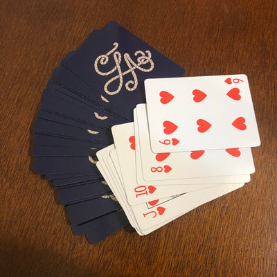 LA playing cards