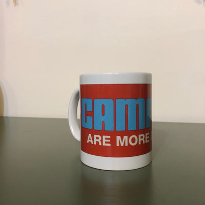 CAMPERS ARE MORE IN TENTS coffee cup