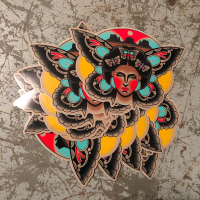 DESERT BUTTERFLY sticker