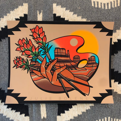 INDIAN PAINTBRUSH prints 11x14