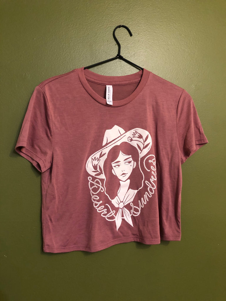 COWGIRL DS crop pink shirts
