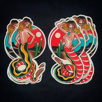 SNAKE LADY STICKERS
