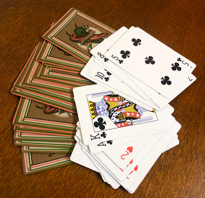 CHRISTMAS CHILE PLAYING CARDS