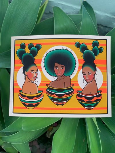 NEW CACTUS BABE proceeds for Black Women's Blueprint