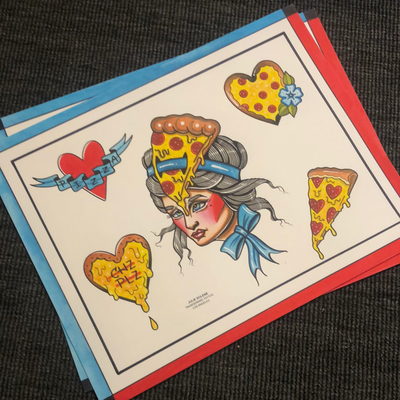 PIZZA BABE prints