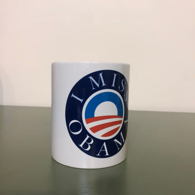 I MISS OBAMA coffee cup